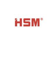 HSM DESTRUCTEUR DE DOCUMENTS
